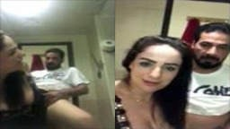 مقطع افلام سكس نيك عربي لبنانية سكرانة في الحمام مع عشيقها