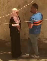 محجبه تتفرش والواد كيفها واتصورا سوا